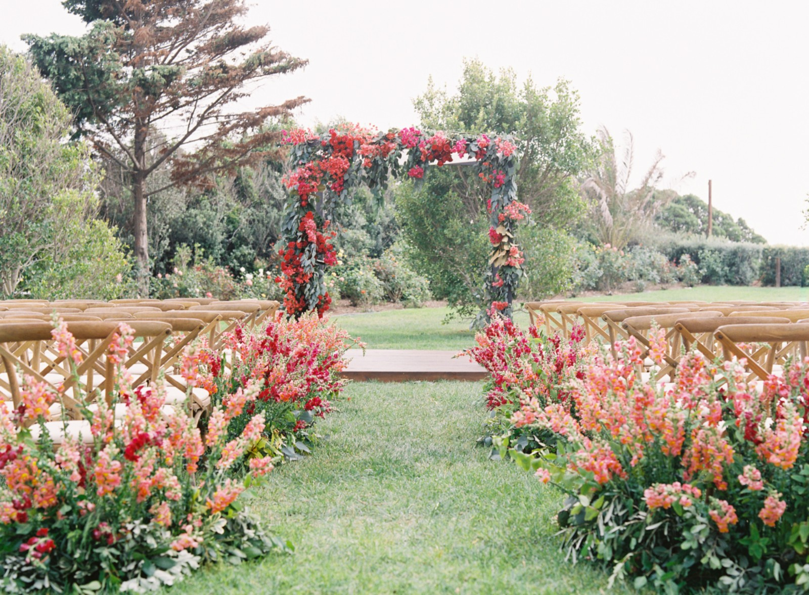 Beautiful Details For A Burgundy Wedding