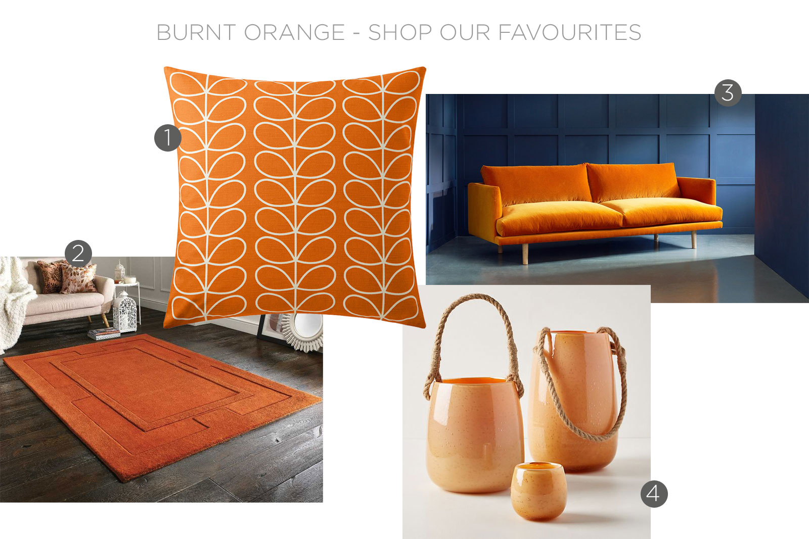 burnt orange, burnt orange interiors, burnt orange shop