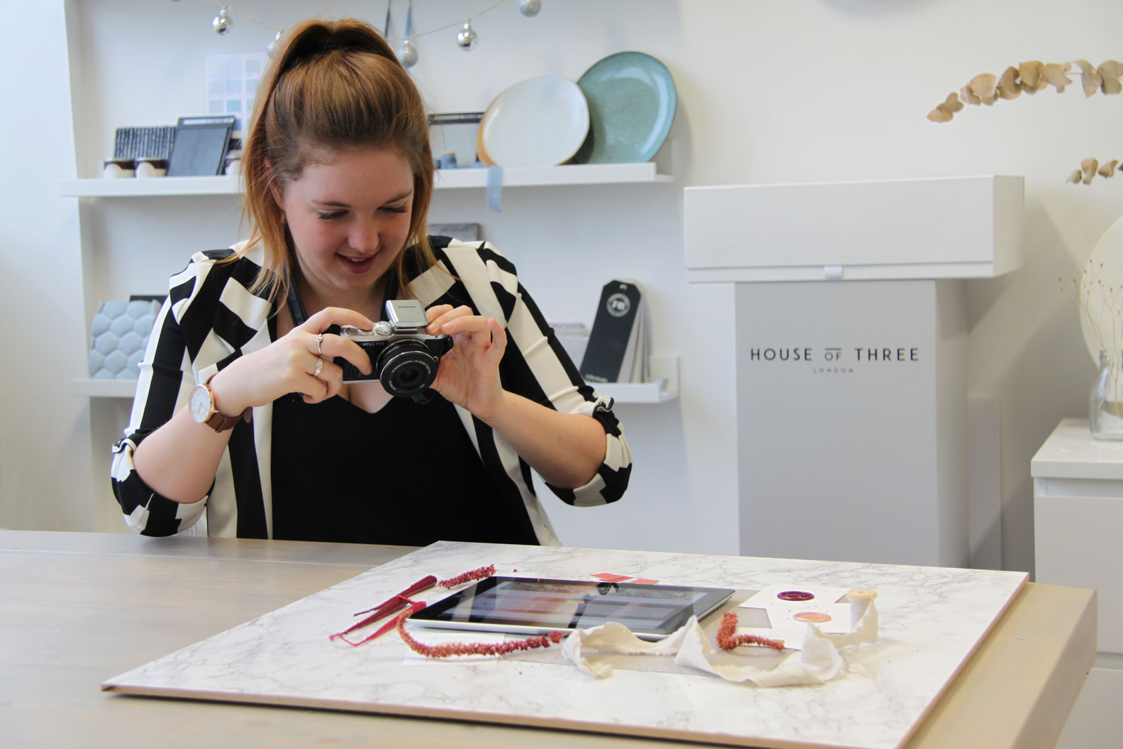 Get to know me, Design Assistant, House of Three, Three Little Secrets