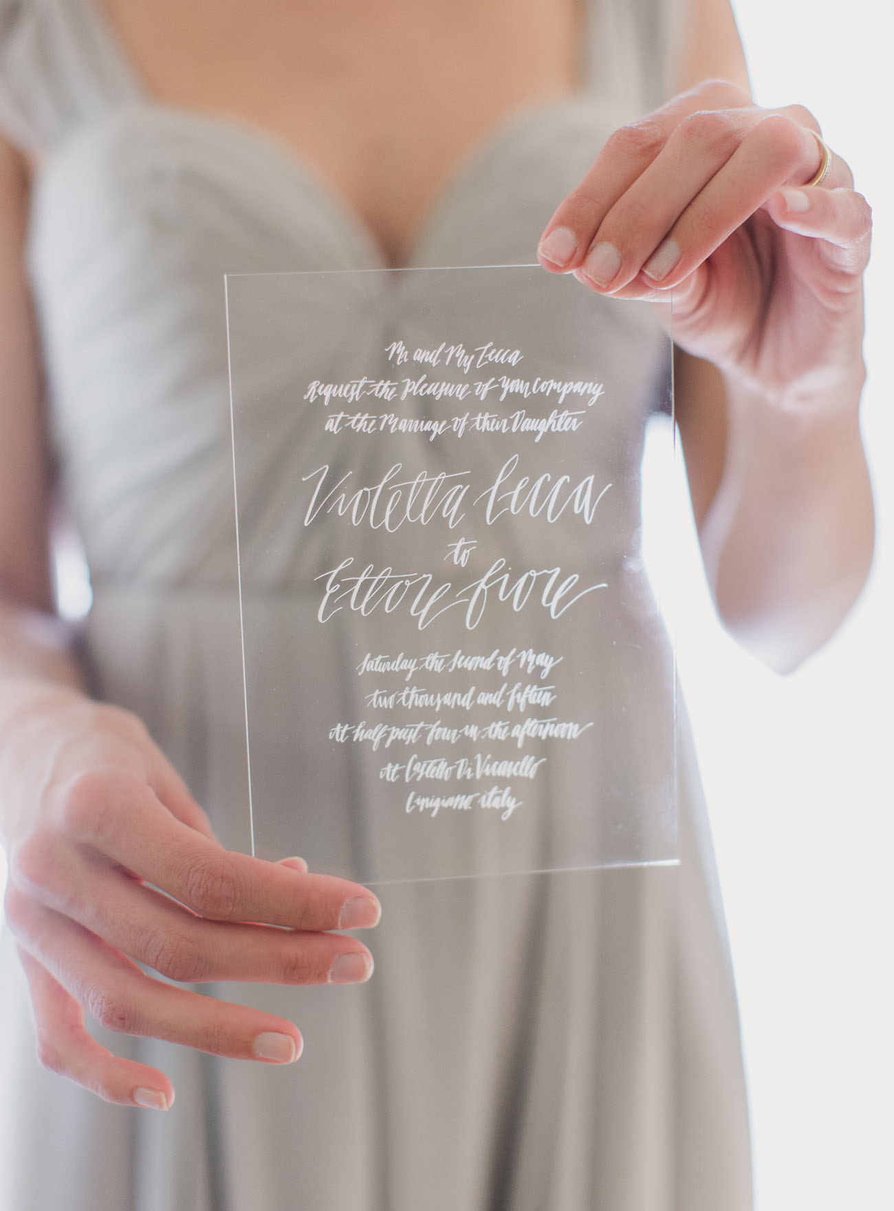 Wedding Invitations greenweddingshoes.com - mademoisellefiona.com