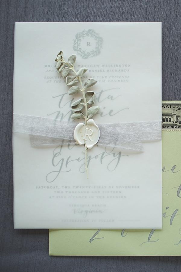 Wedding Invitations tidewaterandtulle.com - heidicalma.com