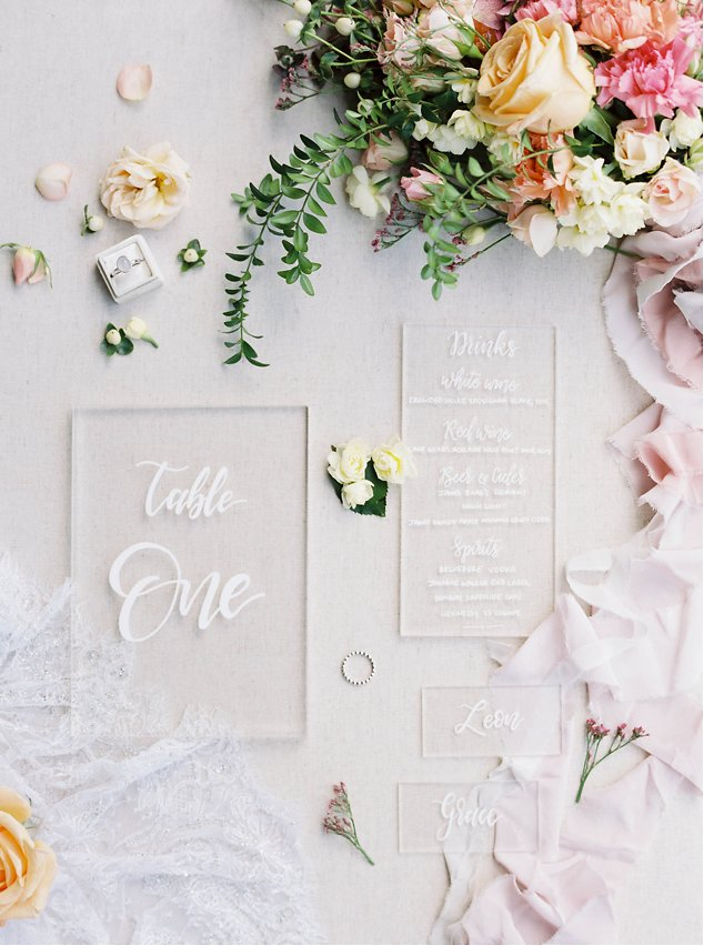 Wedding Invitations whitemag.com - honeygemcreative.com