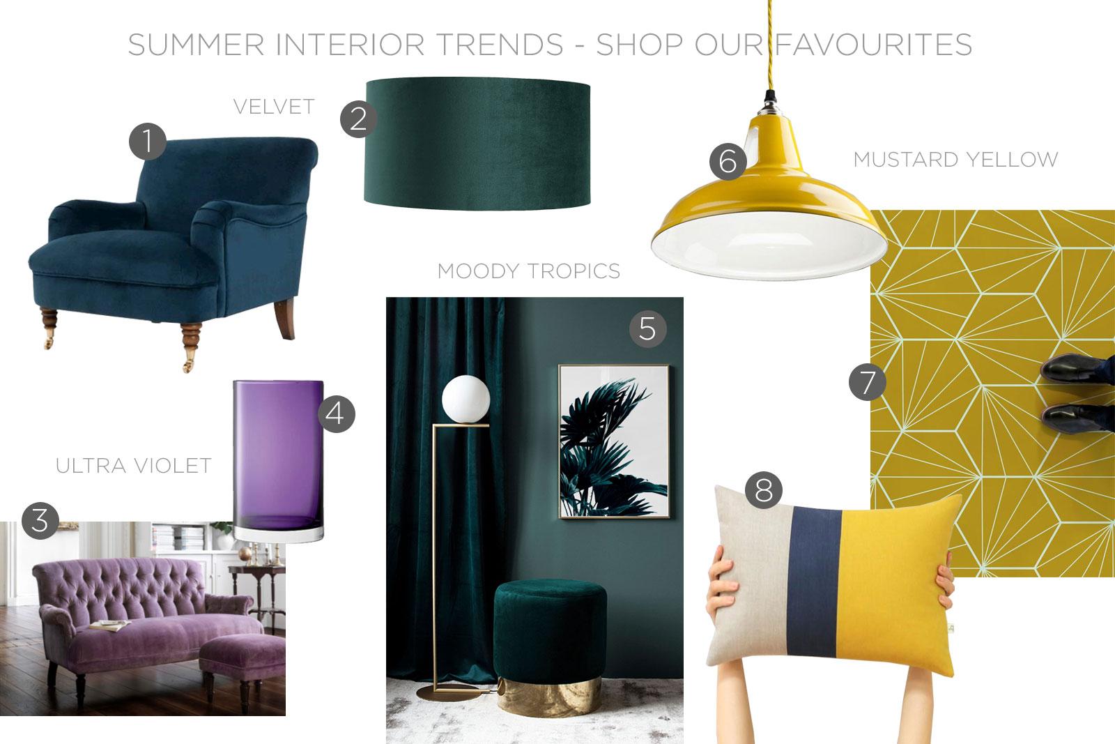 Summer Interior Trends, 2019 Interiors, 2019 Interior Design, Interior Design Trends