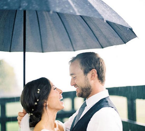 rain wedding day, rainy wedding day, wedding day rain, what happens if it rains on your wedding day